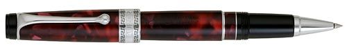 Burgundy Marble/Chrome Trim finish - Rollerball shown