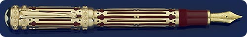 Montblanc Catherine The Great Fountain Pen - Patron Of The Arts - #718/4810 - Piston Filled