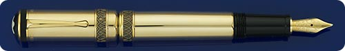 Montblanc Friedrich II The Great - Patron Of The Arts Retractable Fountain Pen - #1028/4810 - Cartridge Only Fill