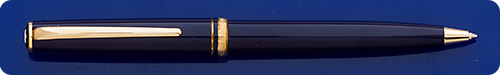 Montblanc Generation Blue Ball Pen - Gold Plated Trim - Twist Action