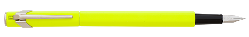 Flourescent Yellow   finish - Fountain Pen shown