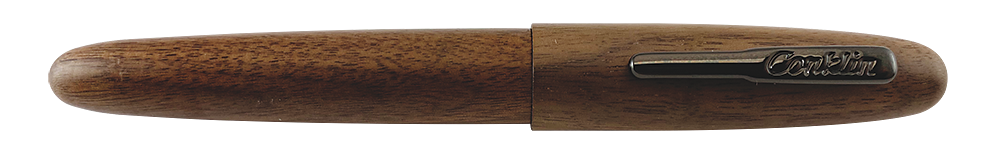 Walnut with Gunmetal Trim  finish - Rollerball shown