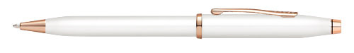 White Lacquer finish - Ball Pen  shown