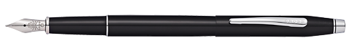 Black Lacquer CT finish - Fountain Pen shown