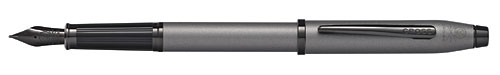 Gray Gun Metal finish - Fountain Pen  shown
