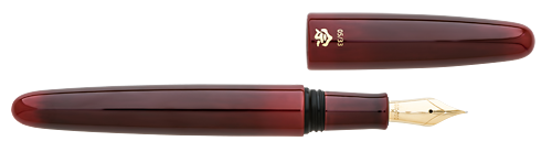 Aka-Tamenuri Red finish - Fountain Pen shown