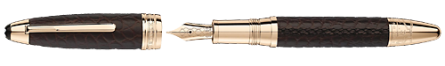 Brown Alligator finish - Fountain Pen (Reg: $3280) shown