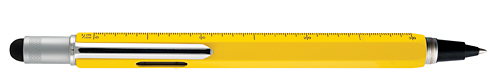 Yellow   finish - Inkball with Stylus, Ruler & Level shown