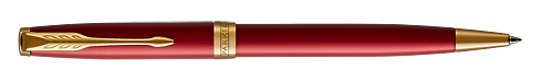 Red Satined Lacquer finish - Ball Pen shown