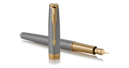 Sterling Silver Cisele finish - Fountain Pen shown