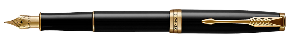 Black Lacquer GT finish - Fountain Pen shown