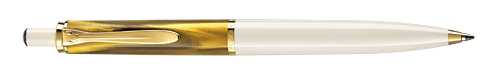 Brown/Gold & White   finish - Ball Pen shown