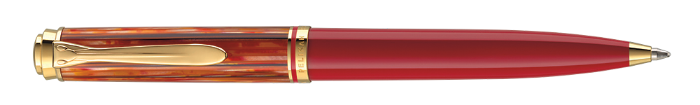 Red Tortoiseshell       finish - Ball Pen shown
