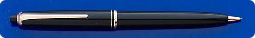 Montblanc #25 Black Pencil - Gold Filled Trim - Button Activated