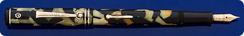 Wahl Eversharp Gold Seal - Signature  -  Black And Pearl - Lever Fill - Gold Filled Trim