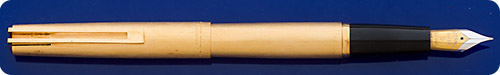 Waterman Brushed Gold Filled  - Cartridge Or Convertor Fill