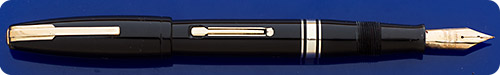 100 Year Pen - Black - Gold Filled Trim - Lever Fill